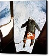 Kittinger Canvas Print by SPL and Photo Researchers