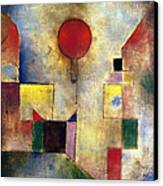 Klee: Red Balloon, 1922 Canvas Print by Granger