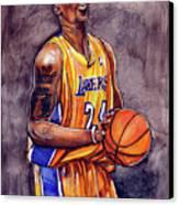 Kobe Bryant Canvas Print by Dave Olsen