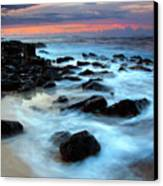 Koloa Dawn Canvas Print by Mike  Dawson