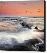 Koloa Dusk Canvas Print by Mike  Dawson