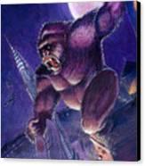 Kong Canvas Print by Ken Meyer jr