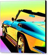 Kool Corvette Canvas Print by Lynn Andrews