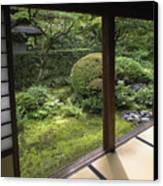 Koto-in Zen Temple Side Garden - Kyoto Japan Canvas Print by Daniel Hagerman