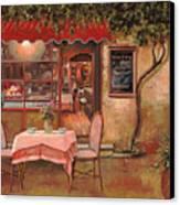 La Palette Canvas Print by Guido Borelli