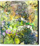 La Provence 07 Canvas Print by Miki De Goodaboom