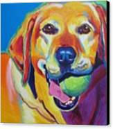 Lab - Bud Canvas Print by Alicia VanNoy Call