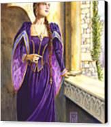Lady Ettard Canvas Print by Melissa A Benson