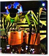 Lady Gaga Spider Canvas Print by Chuck Kuhn