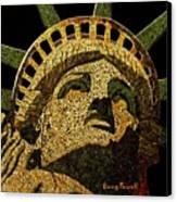 Lady Liberty Canvas Print by Doug Powell