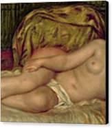 Large Nude Canvas Print by Pierre Auguste Renoir