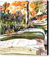Last Summer In Brigadoon Canvas Print by Kip DeVore