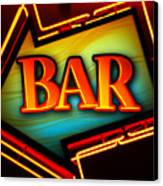 Laurettes Bar Canvas Print by Barbara Teller