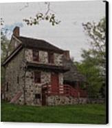 Layfayette's Headquarters At Brandywine Canvas Print by Gordon Beck