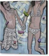 L'chaim L'chaim Canvas Print by Darlene Graeser