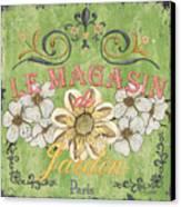 Le Magasin De Jardin Canvas Print by Debbie DeWitt