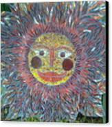 Le Soleil Canvas Print by Kimberly Barrow