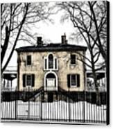 Lemon Hill Mansion - Philadelphia Canvas Print by Bill Cannon