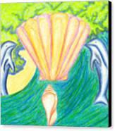 Lemuria Atlantis Canvas Print by Kim Sy Ok