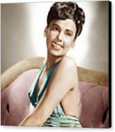 Lena Horne, Mgm Portrait, Ca. 1940s Canvas Print by Everett