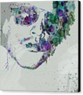 Lenny Kravitz Canvas Print by Naxart Studio