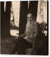 Leo Tolstoy 1828-1910 Russian Novelist Canvas Print by Everett
