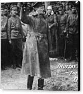 Leon Trotsky (1879-1940) Canvas Print by Granger