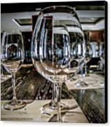 Let The Wine Tasting Begin Canvas Print by Julie Palencia