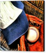 Let's Play Ball Canvas Print by Jimmy Ostgard