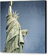 Liberty Enlightening The World Canvas Print by Charles Dobbs
