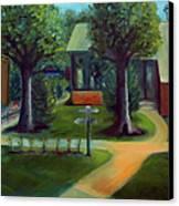 Lichterman Nature Center Canvas Print by Karen Francis