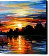Life Memories Canvas Print by Leonid Afremov