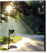 Light The Way Home Canvas Print by Guy Ricketts