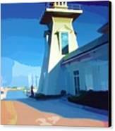 Lighthouse Canvas Print by Deborah MacQuarrie-Haig