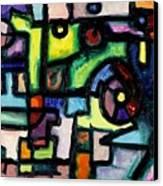 Like Clockwork Canvas Print by Regina Valluzzi