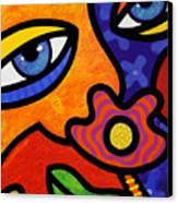 Lilli Lilligrin Canvas Print by Steven Scott