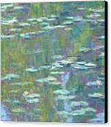 Lily Pond 2 Canvas Print by Michael Camp