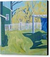 Line Of Wash Canvas Print by Debra Robinson