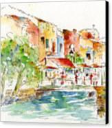 L'isle Sur La Sorgue Canvas Print by Pat Katz