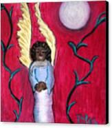 Little Angel Canvas Print by Pilar  Martinez-Byrne