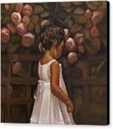Little Flower Canvas Print by Curtis James