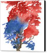 Little Zen Tree 292 Canvas Print by Sean Seal
