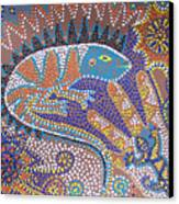 Lizard Dreaming Canvas Print by Vijay Sharon Govender