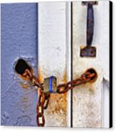 Locked Out Canvas Print by Evelina Kremsdorf