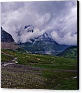 Logans Pass Canvas Print by Christopher Lugenbeal