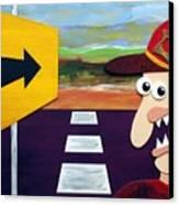 Long Road Home Canvas Print by Sal Marino