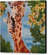 Lookin Back Canvas Print by Karen Ilari