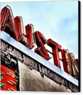 Love #austin Canvas Print by Things To Do In Austin Texas