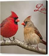 Love Canvas Print by Bonnie Barry