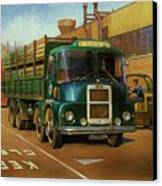 Lucas Scammell Routeman I Canvas Print by Mike  Jeffries
